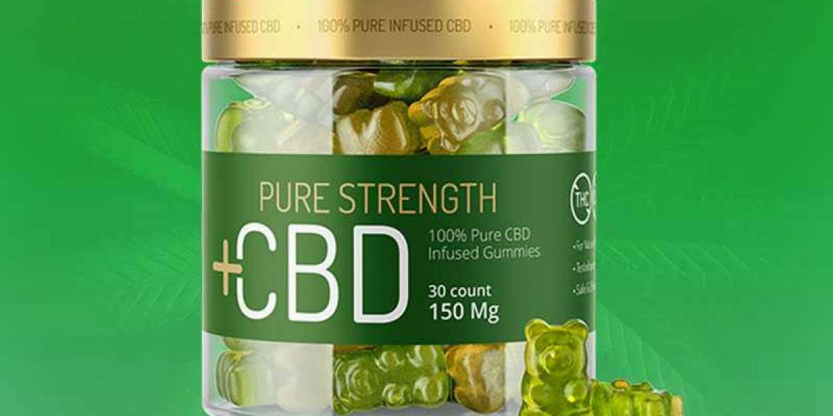 Pure Strength CBD Gummies Canada Price And Is This CBD Works?