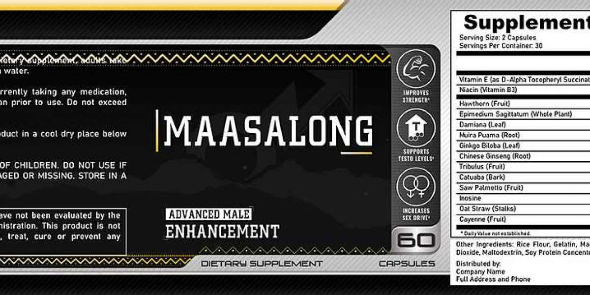 Massalong Pills Price, Ingredients, Benefits And Side Effect