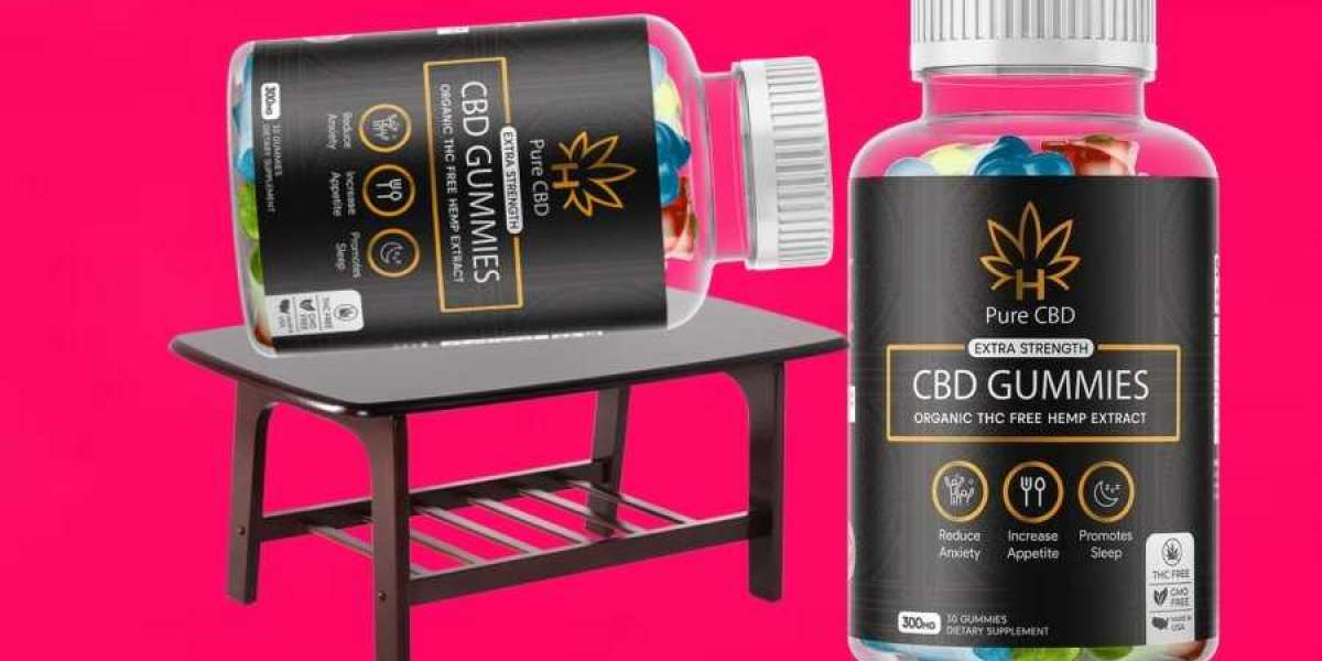 Pure CBD Gummies Extra Strength Reviews - $39.74 Cost, 3+2 Offer Buy Now!