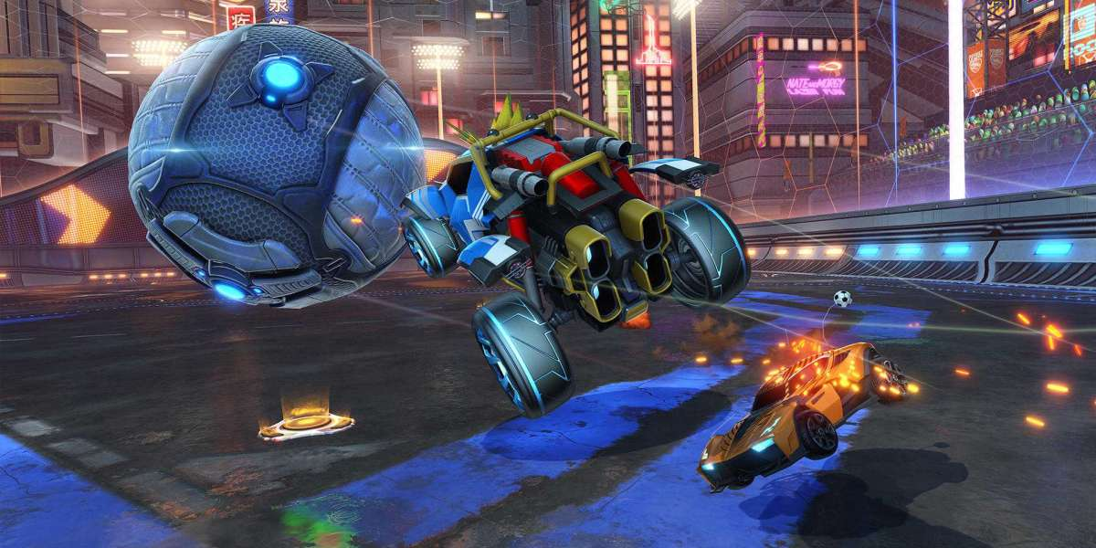 Rocket League Credits will sparkle at stunt shots