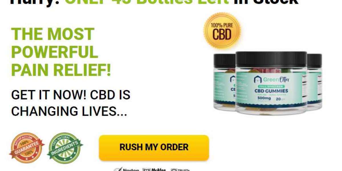 Green Otter CBD Gummies Reviews | Read Must Benefits, Price, Cost, Side Effects, Ingredients?