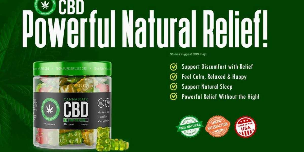 RESULTS, INGREDIENTS, AND SIDE EFFECTS Of CannaLeafz CBD Gummies Canada
